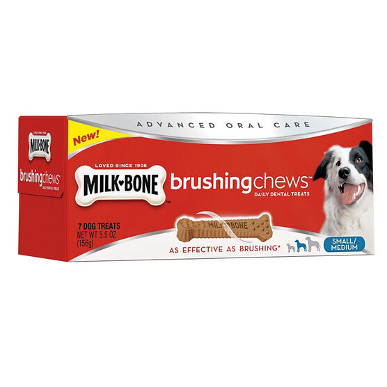 Milkbone Brush Chews for Dogs - Small/Medium - 156g