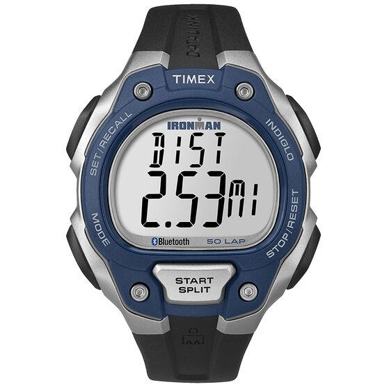 Timex Ironman Classic Move 50+ - Blue/Silver/Black - TW5K86600L3