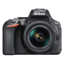 Nikon D5600 with AF-P DX 18-55mm VR Lens - PKG #36021