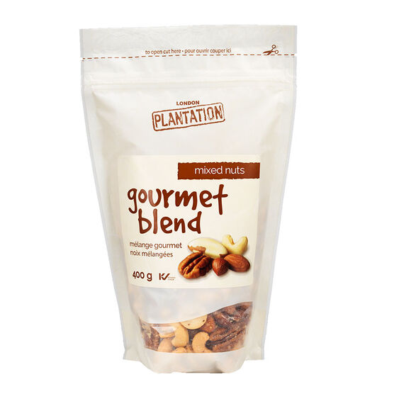 London Plantations Gourmet Blend - Mixed Nuts - 400g