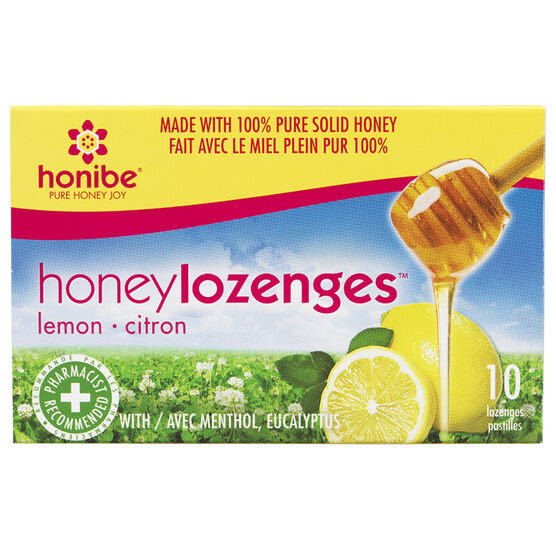 Honibe Honey Lozenges - Lemon - 10's