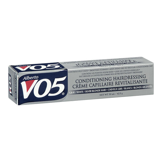 Alberto European VO5 Conditioning Hairdressing - Gray/White/Silver/Blonde Hair - 50ml