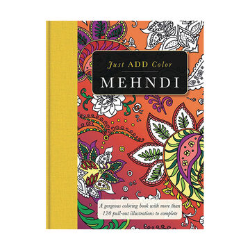 Just ADD Color - Mehndi