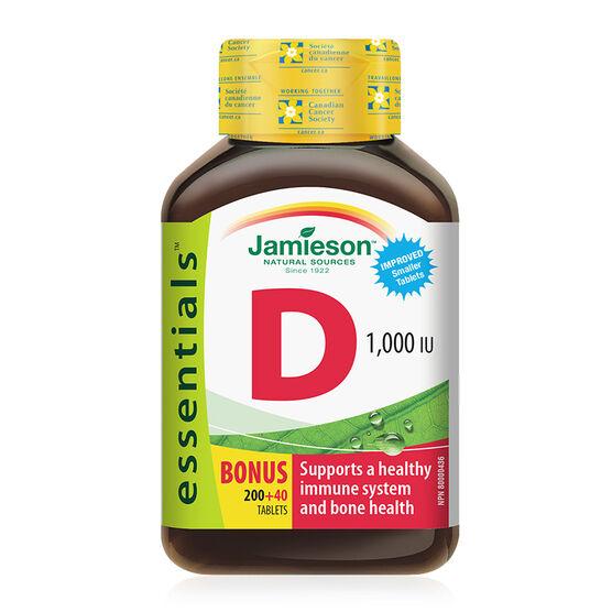 Jamieson Vitamin D 1,000 IU - 200's