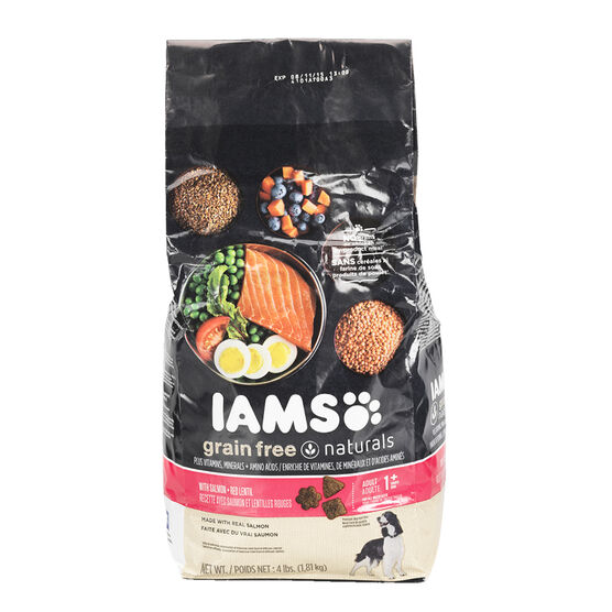 Iams Dry Dog Food - Salmon & Lentil - 1.81kg