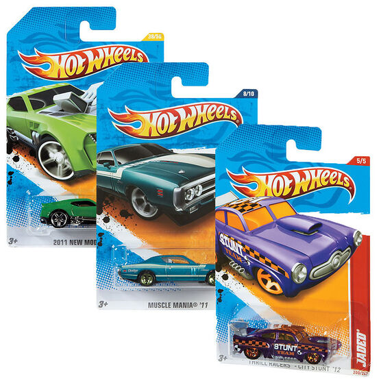 Hot Wheels Vehicles - Assorted