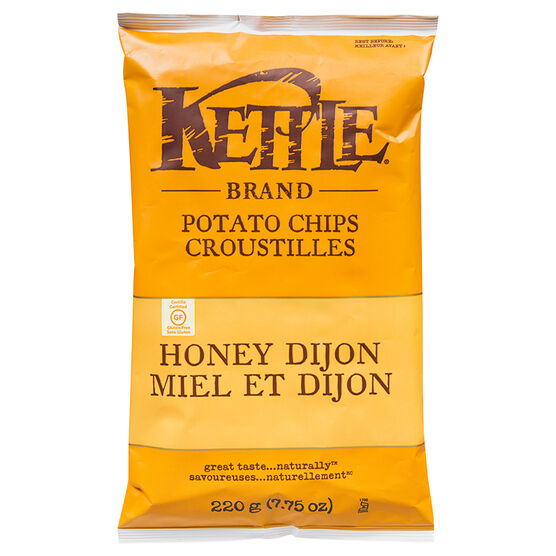 Kettle Brand Potato Chips - Honey Dijon - 220g
