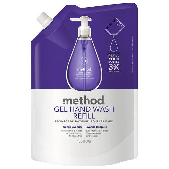 Method Hand Wash Refill - Lavender - 1L