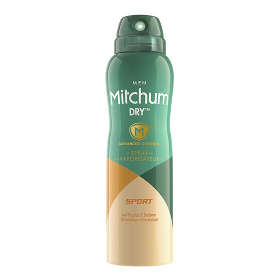 Mitchum Men Dry Spray Anti-Perspirant - Sport - 113g