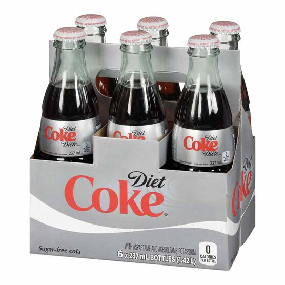 Coke Diet - 6 x 237ml