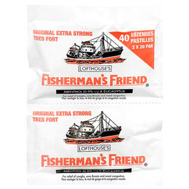 Fisherman's Friend Lozenges - Original Extra Strong - 2 x 20's