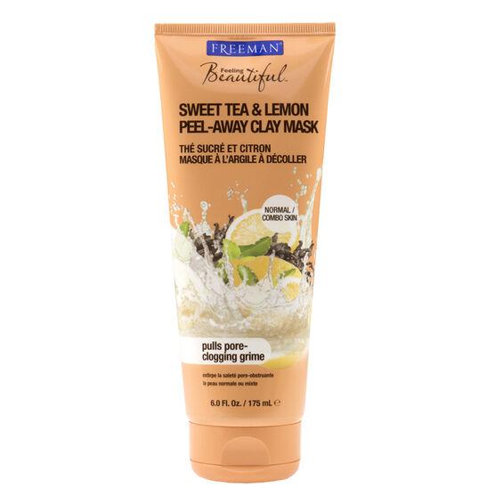 Freeman Peel Away Clay Mask - Sweet Tea and Lemon - 175ml