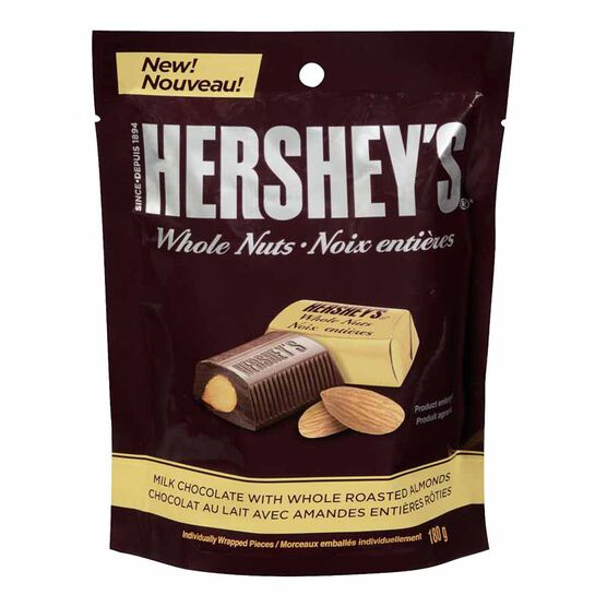Hershey's Whole Nuts - Milk Chocolate - 180g