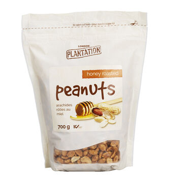 London Plantation Peanuts - Honey Roasted - 700g