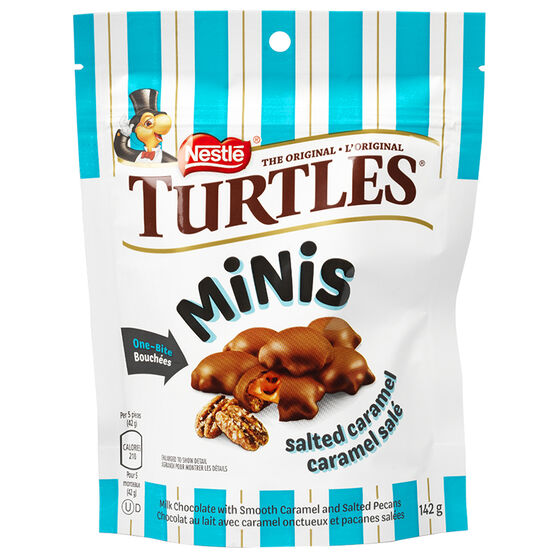 Nestle Turtles Sweet and Salty Mini - 142g