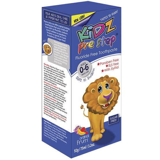 Kidz Pre Step Toothpaste - Fruity - 92g
