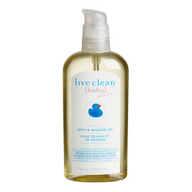 Live Clean Baby & Mommy Bath Oil - 125ml