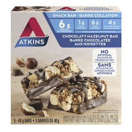 Atkins Day Break Bar - Chocolate Hazelnut - 5 x 40g
