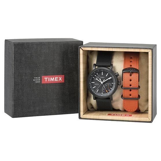 Timex Metropolitan+ Gift Set - Black - TWG012600ZL