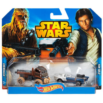 Hot Wheels Star Wars Cars - Assorted - 2 Pack
