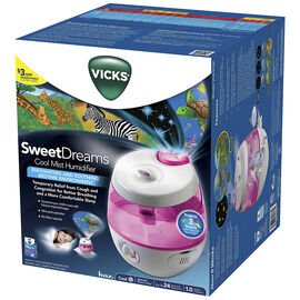 Vicks Sweet Dreams Cool Mist Humidifier - Pink - VUL575PC