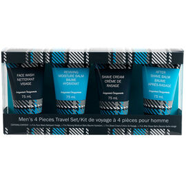 The Bath Republic Men's Bath Set - 4 piece