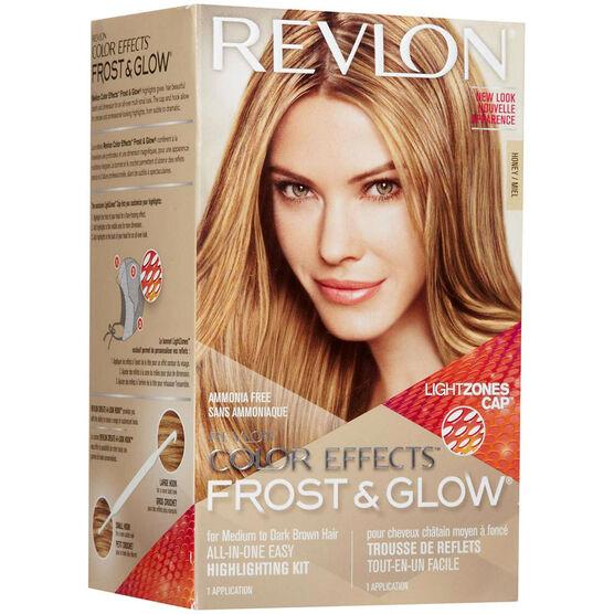 Revlon Frost Amp Glow Color Effects Medium To Dark Brown