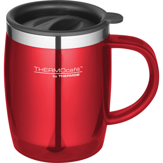 Thermocafe Desk Mug - Stainless Steel - 420ml - Assorted