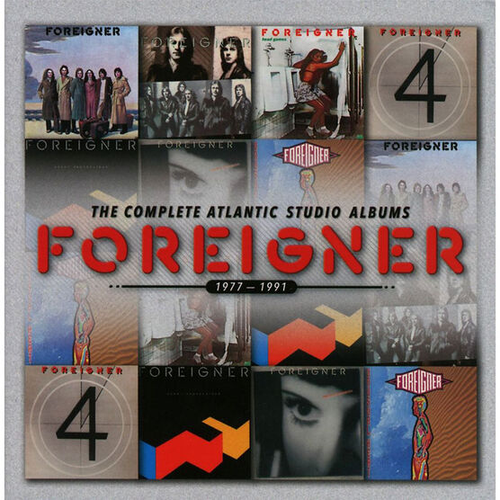 Foreigner - The Complete Atlantic Studio Albums 1977-1991 - 7 CD
