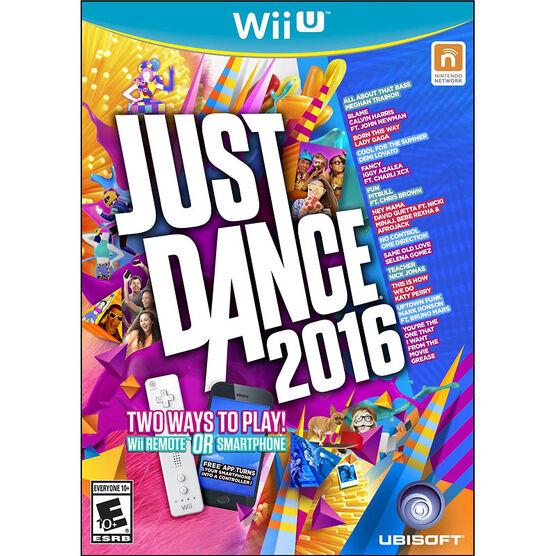 Wii Just Dance 2016