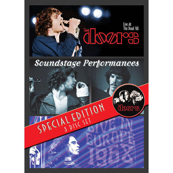The Doors - 3 Concert Set - DVD
