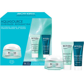Biotherm Aquasource Total Eye Revitalizer Set - 3 piece