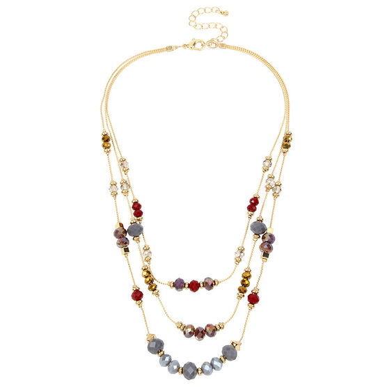Haskell Illusion Necklace - Multi