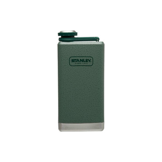Stanley Adventure Stainless Steel Flask - 8oz - Hammertone Green