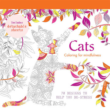 Coloring for Mindfulness - Cats Designs