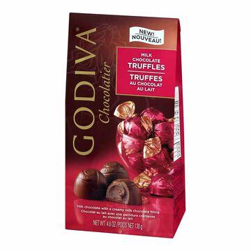Godiva Gems Milk Chocolate Truffles - 130g