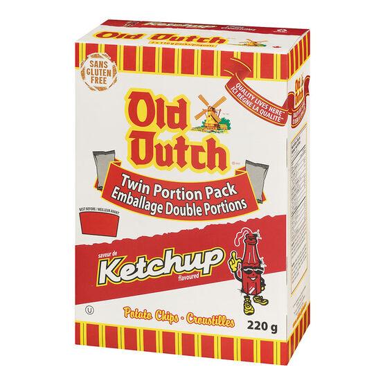 Old Dutch Ketchup Chips - 220g Box