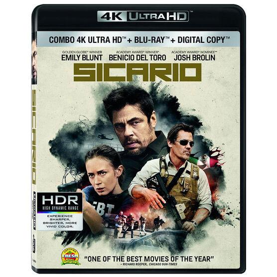 Sicario - 4K Ultra HD + Blu-ray