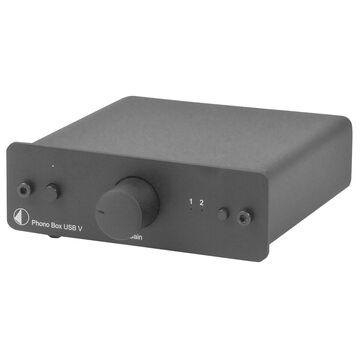 Pro-Ject Phono Box USB V Preamp - Black - PJ35828491