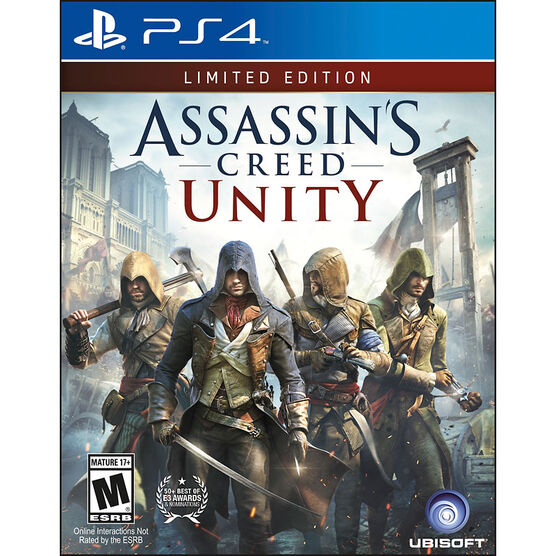 PS4 Assasins Creed Unity: Limited Edition