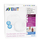 Avent Disposable Breast Day Pads - 30's