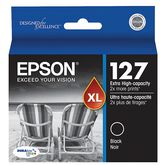 Epson 127 Extra High-Capacity Ink Cartridge - Black - T127120-S