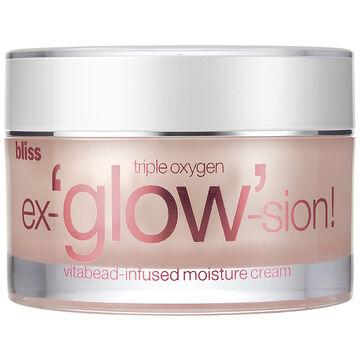 Bliss Triple Oxygen ex-'glow'-sion Vitabead-Infused Moisture Cream - 50ml