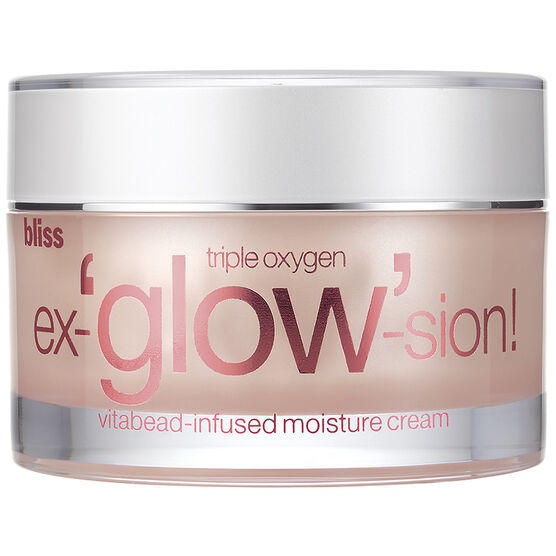 Bliss Triple Oxygen ex-'glow'-sion Vitabead-Infused Moisture Cream - 50ml