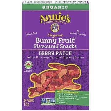 Annie's Bunny Fruit Snacks - Berry Patch - 115g