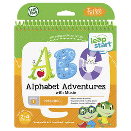 LeapStart Book - Alphabet - Level 1