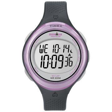 Timex Ironman Clear-View 30 Lap Watch - Grey/Pink - T5K600GP