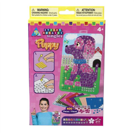 Sticky Mosaics Singles - Puppy