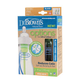 Dr. Brown's Glass Bottles - 2 count - 270ml - 30789