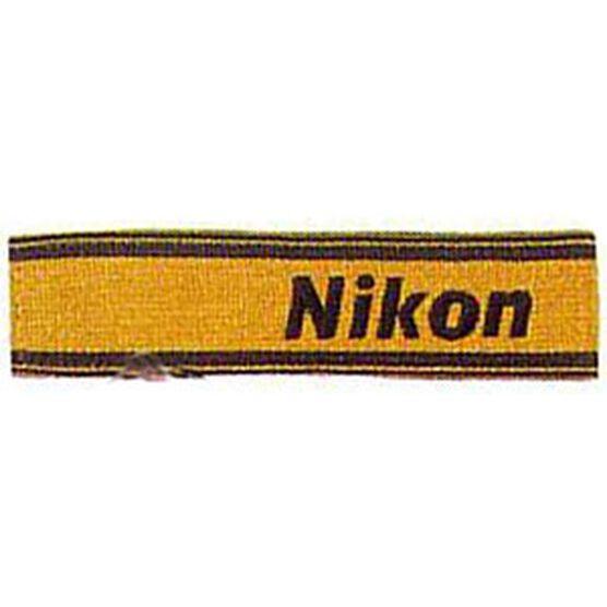 Nikon AN6Y Wide Nylon Neck Strap - Yellow